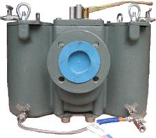 Eaton model 53btx duplex strainer