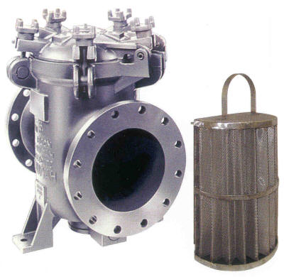 Eaton model 73 cast iron simplex strainer