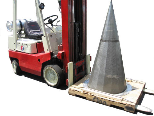 Factory Direct Temporary Cone Strainer
