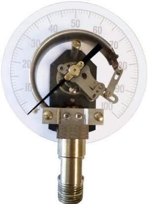 Digital Air Pressure Gauge >> Anatomy of a Pressure Gauge, its components and how it works