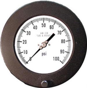 Industrial process pressure gauges