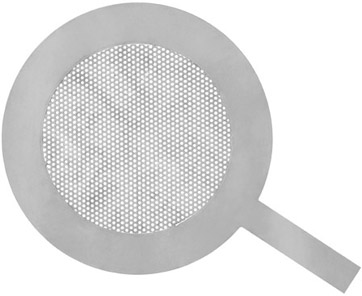 Temporary Plate Strainer