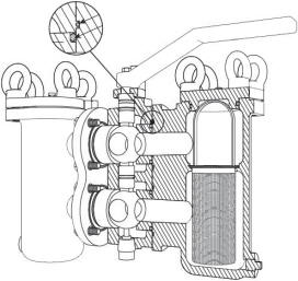 Titan duplex strainer parts diagram