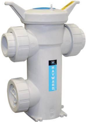 Platinum GFPP simplex strainer