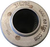 316298 internormen pressure hydraulic filter element