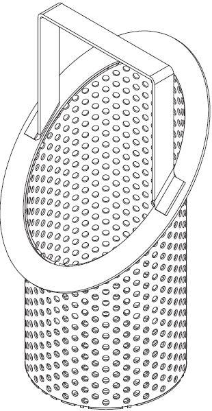 Slanted Ring Strainer Basket