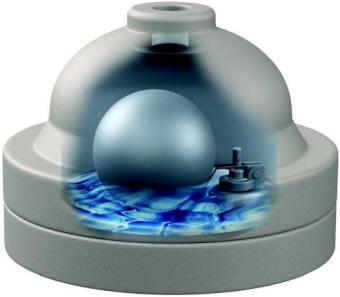Condensate float drain trap